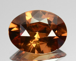 3.32 Cts Natural Imperial Brown Zircon Sri Lanka Gem
