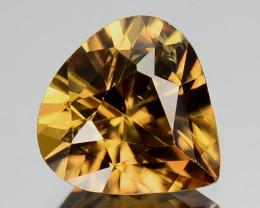 2.97 Cts Natural Imperial Yellow Zircon Sri Lanka Gem