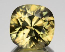 4.32 Cts Natural Imperial Yellow Zircon Sri Lanka Gem