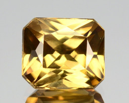 2.83 Cts Natural Imperial Yellow Zircon Sri Lanka Gem