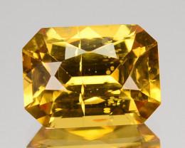 ~DAZZLING~ 3.70 Cts Natural Imperial Color Zircon Octagon Cut Sri Lanka