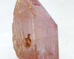 Amazing Natural pink color Damage free Kunzite DT crystal 50 Cts-A