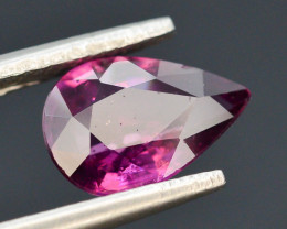 Rarest 1.80 ct Grape Garnet one of a Kind Fire