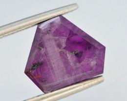Rarest 4.75 ct Trapiche Pink Kashmir Sapphire ~ t