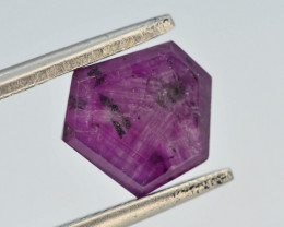 Rarest 2.30 ct Trapiche Pink Kashmir Sapphire ~ t