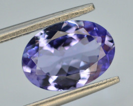 AAA Grade 2.60 ct Tanzanite Eye Catching Color ~T