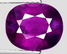 3.67 Ct Natural Grape Garnet Top Quality Gemstone. GG 05