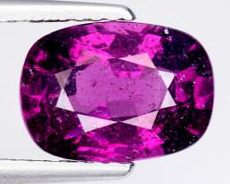2.82 Ct Natural Grape Garnet Top Quality Gemstone. GG 07