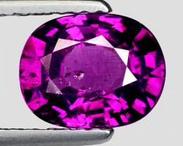 1.58 Ct Natural Grape Garnet Top Quality Gemstone. GG 22