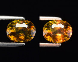 1.45 Ct Natural Sphene Sparkiling Luster Gemstone. SN 31