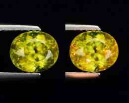 1.29 Ct Natural Sphene Sparkiling Luster Gemstone. SN 35