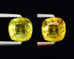1.00 Ct Natural Sphene Sparkiling Luster Gemstone. SN 36