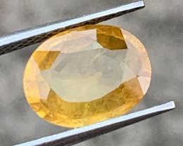 2.13 Carats Yellow Sapphire Gemstones