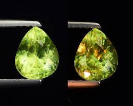 1.02 Ct Natural Sphene Sparkiling Luster Gemstone. SN 40