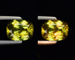 1.02 Ct Natural Sphene Sparkiling Luster Gemstone. SN 41