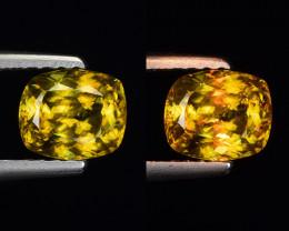 0.96 Ct Natural Sphene Sparkiling Luster Gemstone. SN 42