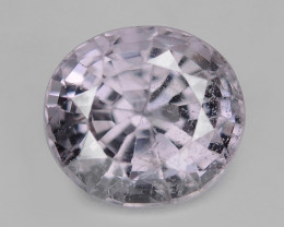 1.71 Cts Untreated Very Rare Lavender  Color Natural Spinel Gemstone