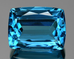 8.75 CTS FANCY SWISS BLUE COLOR TOPAZ NATURAL GEMSTONE