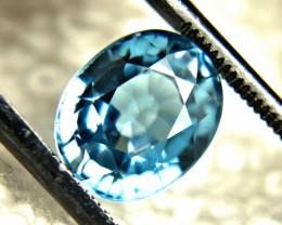 5.17 Ct. Vibrant Blue Southeast Asian VVS Zircon - Gorgeous