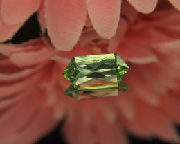Master Cut Pakistan Peridot Gemstone Cut