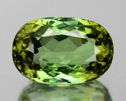 6.80 Cts UN HEATED GREEN  NATURAL TOURMALINE LOOSE GEMSTONE