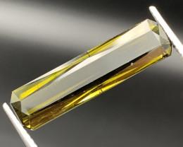 """NR"" Jumbo 21.25 Carats!!Good Quality  Honey Color Natural Tourmaline"