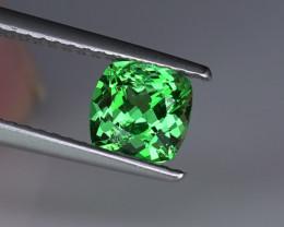 .96CT 100% TOP GREEN BRIGHT TSAVORITE GARNET $1NR!