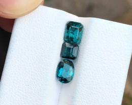 2.70 Ct Natural Blueish Transparent Tourmaline Gemstones Parcels