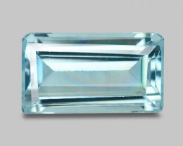 3.22 CTS UN HEATED  NATURAL AQUAMARINE LOOSE GEMSTONE