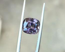 1.90 Ct Natural Purple Transparent Burma's Spinal Gemstone