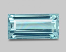 1.98 Cts UNHEATED   BLUE COLOR NATURAL AQUAMARINE LOOSE GEMSTONE