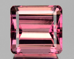 3.55 Cts UNHEATED NATURAL PINK TOURMALINE LOOSE GEMSTONE