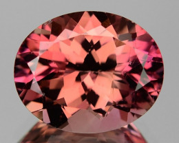 3.28 Cts UNHEATED PINK COLOR NATURAL TOURMALINE LOOSE GEMSTONE