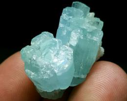 Amazing natural color Aquamarine specimen 40Cts-Pakistan
