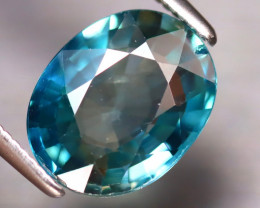 Blue Zircon 3.23Ct Natural Cambodian Blue Zircon  DR344/A31