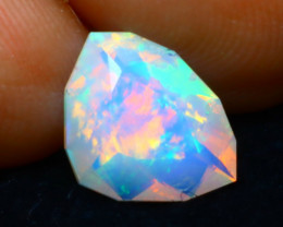 Welo Opal 1.21Ct Natural Ethiopian Play of Color Opal DR45