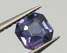 1.09ct  Cushion Purple  Sapphire 6x5.5mm ( SKU 123 )