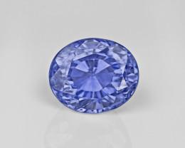 Blue Sapphire, 4.10ct - Mined in Sri Lanka | Certified by GII