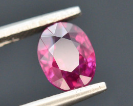 Rarest 1.10 ct Grape Garnet one of a Kind Fire
