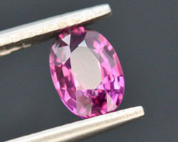 Rarest 0.95 ct Grape Garnet one of a Kind Fire