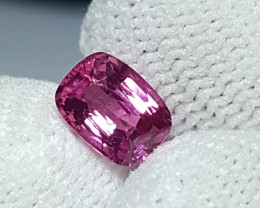 NO TREAT 1.14 CTS NATURAL STUNNING HOT PINK SPINEL FROM BURMA