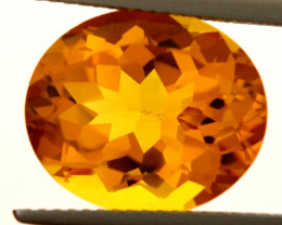 6.85-CTS MADEIRA CITRINE FACETED CG-2879