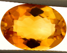 4.73-CTS MADEIRA CITRINE FACETED CG-2880