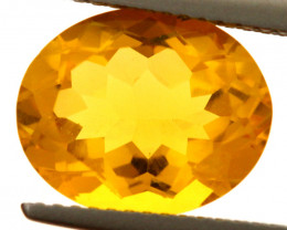 4.07-CTS MADEIRA CITRINE FACETED CG-2881