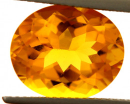 5.35-CTS MADEIRA CITRINE FACETED CG-2894