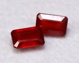 Ruby 1.76Ct Madagascar Blood Red Ruby E2310