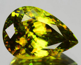 10.00 Cts Natural Green Sphene Russia (Video Avail)