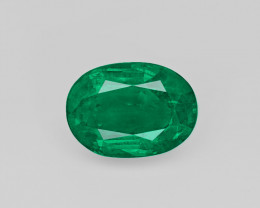 Emerald, 5.47ct - Mined in Zambia | Certified by GII