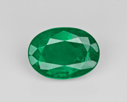 Emerald, 4.70ct - Mined in Zambia | Certified by GII