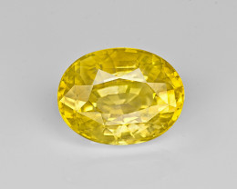 Yellow Sapphire, 5.03ct - Mined in Sri Lanka | Certified by GII